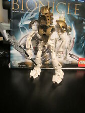Lego Bionicle  8596 Takanuva Figure + Instructions+Weapon + HTF Glitter Mask