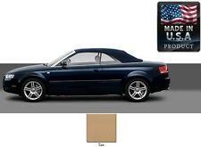 Audi A4 Convertible Soft Top With Heated Glass window in Tan Stayfast Cloth