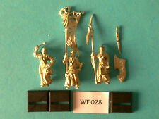 Warhammer - Dark Elf - Warzone Alternative Spearmen Command Group - Metal WF28