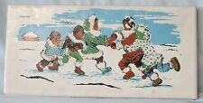 Subway Accent Tile Back Splash or Bathroom Alaskan Scenes Children Playing Color