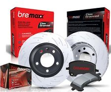 BREMAXX SLOTTED FRONT & REAR BRAKE ROTORS & CERAMIC PADS 200 SERIES LANDCRUISER