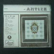 "Lanarte Antiek Cuckoo Clock Tile Counted Cross Stitch 6"" X 6"" Finished NEW 30184"