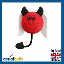 Naughty Red Devil Car Aerial Ball Antenna Topper