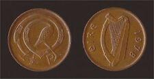 IRLANDA EIRE 1/2 HALF PENNY 1978 BIRD AND IRISH HARP