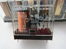 OMRON G2R-1A Relays 10A@250VAC, Coil 24V DC, Made in JAPAN, 12pcs