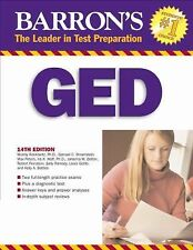 Barron's GED: High School Equivalency Exam, 14th Edition (Book only)-ExLibrary