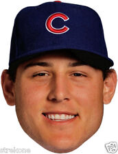 ANTHONY RIZZO Chicago Cubs MLB All Star - Full Head WindoCling Stick-On  Decal