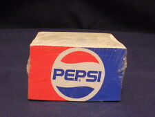 RARE VINTAGE ORIGINAL PAPER CUBE ADS FOR PEPSI,BUICK,25 EAST & DIAMOND SERVICE