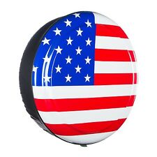 "35"" American Flag - Rigid Tire Cover - Hummer H2 & Oversize Spare Tire"