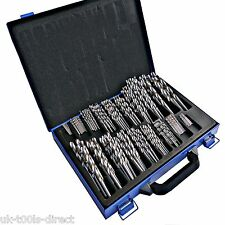 170pc HSS Engineering Drill Set Precision 4241 HSS Steel 1 - 10mm Steel Case