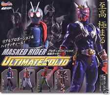 Bandai Kamen Masked Rider Ultimate Solid 1 Lot of 4 Gashapon Figure Very RARE