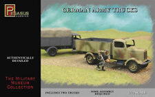 Pegasus Hobbies- 1/72 scale - German Army Trucks x 2 - Model Kit