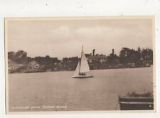 Greetings From Oulton Broad Vintage Postcard 838a