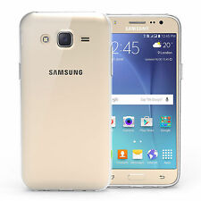 Transparent Clear Silicone Slim Gel Case Protector for Samsung Galaxy J5