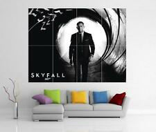 James Bond 007 Skyfall Daniel Craig Gigante De Pared Art Print Cartel H79