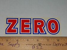 VTG 90's ZERO JAMIE THOMAS TOMMY SANDOVAL CHRIS COLE NOS SKATEBOARD DECK STICKER
