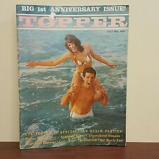Vintage 1962 Topper Big 1st Anniversary Issue Nude Nade Women Photos Beach Party