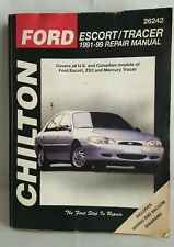 Chilton Ford Escort Tracer 1991-99 Repair Manual