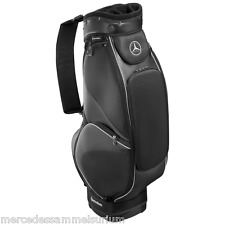 Mercedes Benz Golf Cartbag Similpelle Nera nuovo conf. orig.