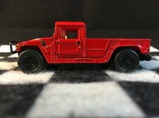 1998 Hummer Pickup Truck Red - RARE 1/64 LIMITED EDITION DIE CAST