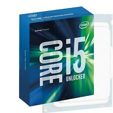 Intel 6th Gen Core i5 (6600K) 3.5GHz Processor 6MB L3 Cache 91W Socket LGA1151