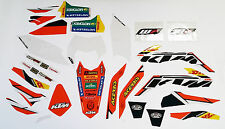 NEW OEM KTM FACTORY ENDURO GRAPHICS 200 250 300 450 500 XC-W EXC 78708990600