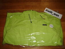 Supreme  Pin Dot Shell Jacket Acid Green XL F/W 2012 North Face Leopard Varsity