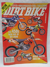 Dirt Bike Magazine May 2003 Desert Racing Six 450's New Age Off Road Honda KTM