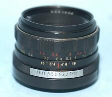 Pentax Pentacon 50mm f1.8 prime lens in M42 screw mount - Nice Ex+!