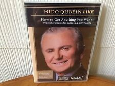 """Nido Qubein """"Live""""How To Get Anything You Want Seminar  DVD & CD AUDIO PACKAGE!"""