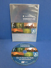 Smithsonian Chronicles ~NEW YORK & KRAKATOA~ How The Earth Was Made SLIMCASE DVD