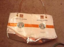Starbucks Tote - Handmade purse new coffee bags recycled