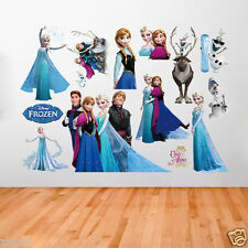 Elsa Anna Frozen Wall Stickers Decal DIY Mural Removable Home Decor Child Room