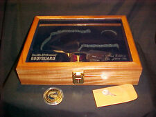 S&W Pistol Presentation Display Case LtdEd Bodyguard 2-Gun Beautiful Solid Wood!