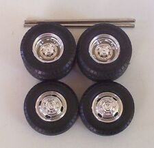 Dodge Dually Wheels n BF Goodrich Tires ONLY Truck AMT 1:25 Pickup Model Parts