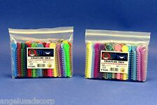 Dental Orthodontic Elastic Ties Bands Kit /2 Pack Assorted Color 2080 Pcs ORTHOM