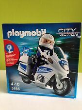 SET MOTO POLICIA PLAYMOBIL REFERNCIA 5185 CITY ACTION
