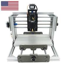 Mini DIY CNC 2417 + LASER Mill Router Kit USB Metal Engraver PCB Milling Machine