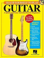 Teach Yourself to Play Guitar -Book/online audio, , Good Book