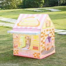 Folding Kid Cake Shop House Tent with doorbell Fun Play House Tent Girl Gift