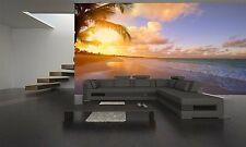 Beautiful Sunrise Beach Wall Mural Photo Wallpaper GIANT DECOR Paper Poster