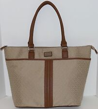 New Tommy Hilfiger TH Logo Tote Handbag Purse Shoulder Bag Multi MSRP $89 NWT