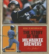 The Story of the Milwaukee Brewers (Baseball: the Great American Game)-ExLibrary