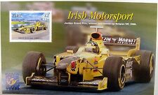 IRELAND 2001 IRISH MOTORSPORT STAMPS SOUVENIR SHEET GRAND PRIX FORMULA 1 IRECAR