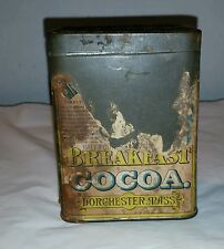 Vintage La Belle Chocolatiere Breakfast Cocoa Tin By Walter Baker & Co LTD.