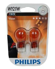 Philips 12071B2 Lot de 2 ampoules à culot en verre WY21W 12V 21W ambré orange
