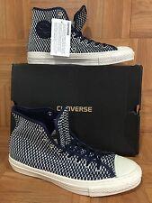 RARE�� Converse Chuck Taylor CT Premium Hi E Ensign Blue White Sz 9 $120 Woven