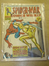 SPIDERMAN BRITISH WEEKLY #29 1973 SEP 1 MARVEL
