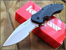 KERSHAW CLASH SPRING ASSISTED KNIFE 4.35 INCH CLOSED SERRATED WITH CLIP NEW!!!!!