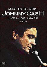JOHNNY CASH - MAN IN BLACK: LIVE IN DENMARK 1971 - 2006 SONY DVD - CARL PERKINS